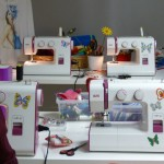 Máquinas de coser de taller Alfiler de Gancho
