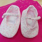 Zapatitos bebe, curso de ropa para bebe