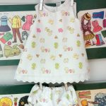 Vestido infantil de pollitos, curso de ropa para bebe