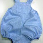 Peto azul para bebe de curso Ropa para Bebe
