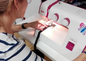 Máquina de coser de nuestros cursos
