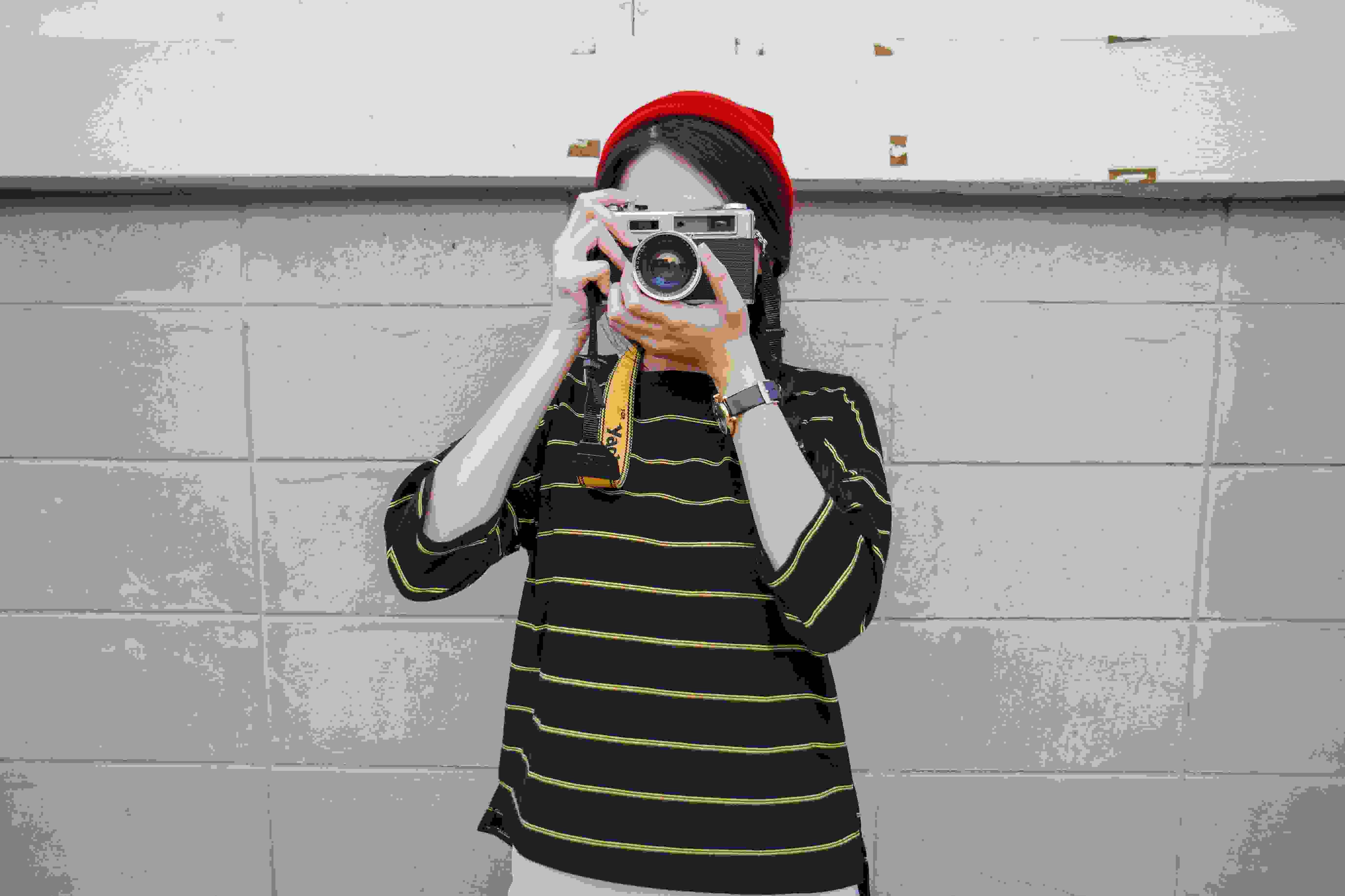 imagen de chica haciendo foto