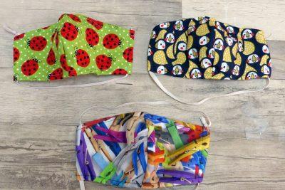 Tutorial y patrones para confeccionar una mascarilla de tela en casa