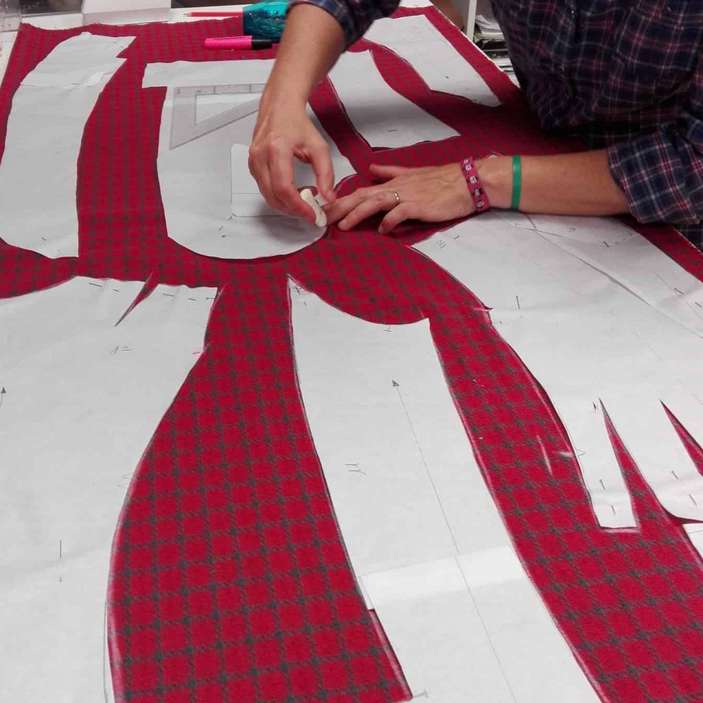 trabajos de costura y patronaje