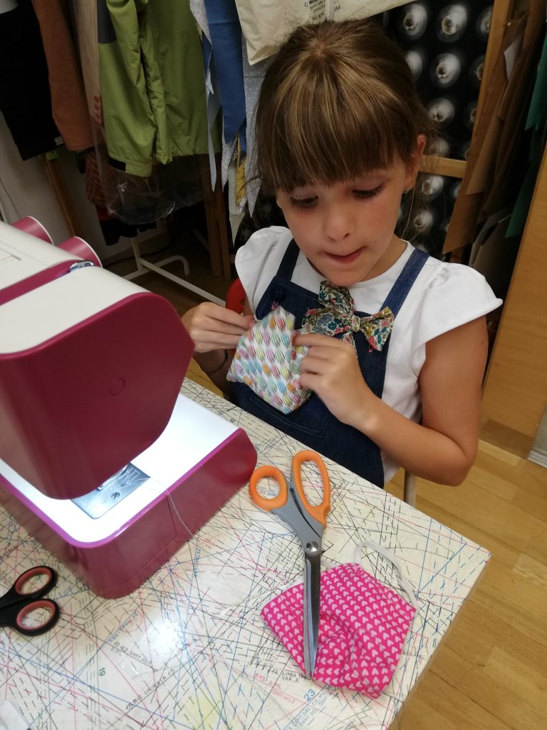 curso de iniciacion a la costura para niños