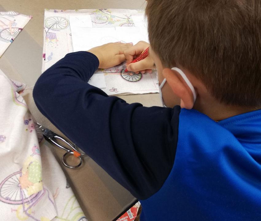 Curso de iniciacion a la costura para niños y niñas