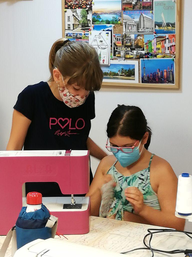 curso de costura para niñas